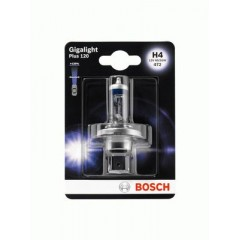 Bosch Lamp GigaLight Plus 120 Xenon Gas H4 12 V 60/55 W P43T