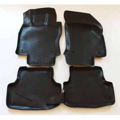 3D Autorohože gumové s vysokým okrajom Audi Q5 2008 a novšie  4 ks