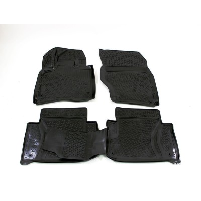 3D Autorohože gumové s vysokým okrajom Audi Q7 2005-2014  4 ks