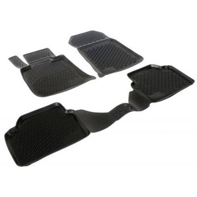 3D Autorohože gumové s vysokým okrajom Bmw 3 Series E46 01-06/ E1990-1992 Sedan 4 ks