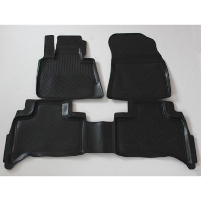 3D Autorohože gumové s vysokým okrajom Bmw 5 Series (E39) 1996 -2003 4 ks