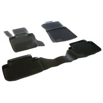 3D Autorohože gumové s vysokým okrajom Bmw X3 Series (E83)  2004-2010  4 ks