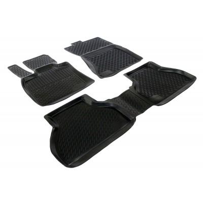 3D Autorohože gumové s vysokým okrajom Bmw X5 E70/X6 E71 2006-2013  4 ks