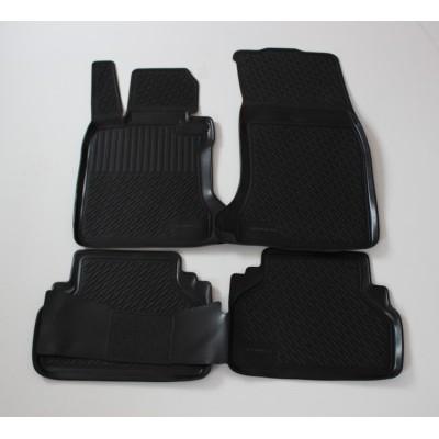 3D Autorohože gumové s vysokým okrajom Bmw 1 Series (E87) od roku 2004 - sada 4ks