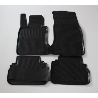 3D Autorohože gumové s vysokým okrajom Bmw 5 Series F10/F11 2010 a novšie 4 ks