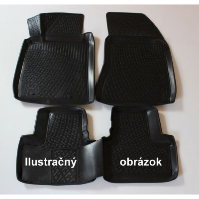 3D Autorohože gumové s vysokým okrajom Bmw 3 Series F31 kombi 2015 - up