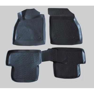 3D Autorohože gumové s vysokým okrajom Chevrolet Cruze 2009 a novšie   4 ks