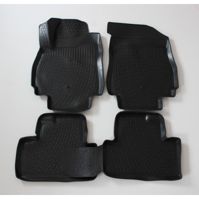 3D Autorohože gumové s vysokým okrajom Chevrolet  Orlando 2010 a novšie 4 ks