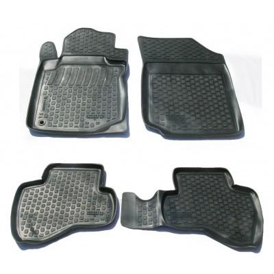 3D Autorohože gumové s vysokým okrajom Citroen C1  2005 - 2014 4  ks