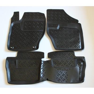 3D Autorohože gumové s vysokým okrajom Citroen C4 II / DS4  hatchback 2011 a novšie 4  ks