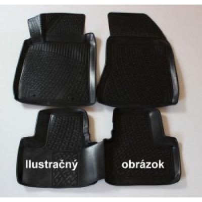 3D Autorohože gumové s vysokým okrajom Citroen Elysee 4D od roku 2013- 4ks