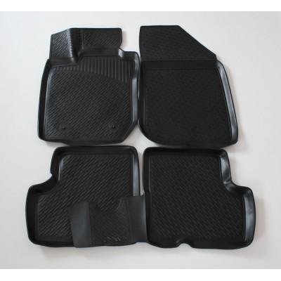 3D Autorohože gumové s vysokým okrajom Dacia Duster od roku 2010- 4ks