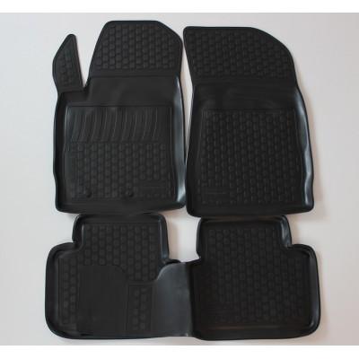 3D Autorohože gumové s vysokým okrajom Fiat Bravo II 2007 a novšie 4 ks