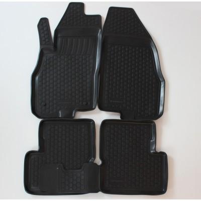 3D Autorohože gumové s vysokým okrajom Fiat Grande Punto 2005 a novšie   4 ks