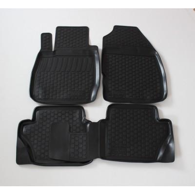 3D Autorohože gumové s vysokým okrajom Ford Fiesta VII 2008 a novšie   4 ks