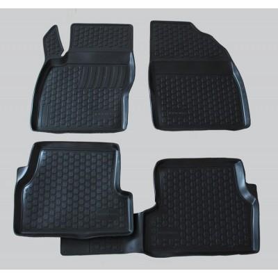 3D Autorohože gumové s vysokým okrajom Ford Focus II 2004-2010  4 ks