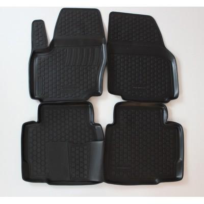 3D Autorohože gumové s vysokým okrajom Ford Mondeo IV 2007 a novšie   4 ks