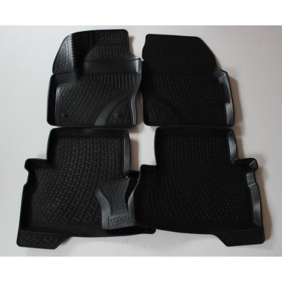 3D Autorohože gumové s vysokým okrajom Ford Kuga 2008-2013  4 ks