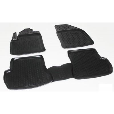 3D Autorohože gumové s vysokým okrajom Ford Fiesta 2002-2008 4 ks