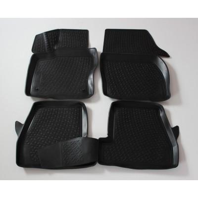 3D Autorohože gumové s vysokým okrajom Ford Focus III 2011 a novšie  4 ks