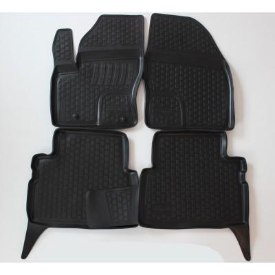 3D Autorohože gumové s vysokým okrajom Ford Kuga 2012 a novšie