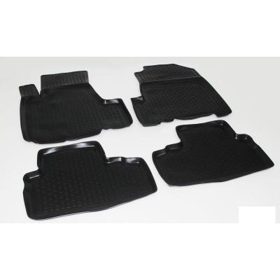 3D Autorohože gumové s vysokým okrajom Honda CRV 2006-2012   3 ks