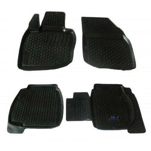 3D Autorohože gumové s vysokým okrajom Honda  Civik 5-door 2001-2005 3 ks
