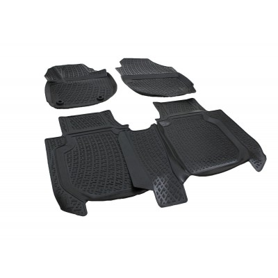 3D Autorohože gumové s vysokým okrajom Honda HR-V 2015  a novšie 4 ks