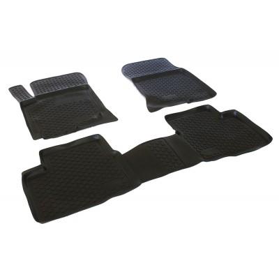 3D Autorohože gumové s vysokým okrajom Hyundai i30 2007 - 2011 sada 4ks