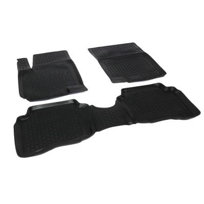 3D Autorohože gumové s vysokým okrajom Hyundai i20 2009 a novšie   4 ks