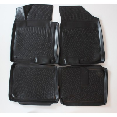 3D Autorohože gumové s vysokým okrajom Hyundai i40  2011 a novšie  4 ks