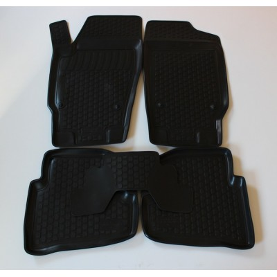 3D Autorohože gumové s vysokým okrajom Jeep Commander 2006 a novšie