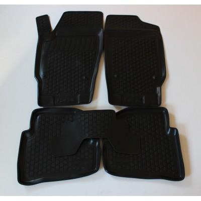 3D Autorohože gumové s vysokým okrajom Jeep Compass 2010- up  4 ks