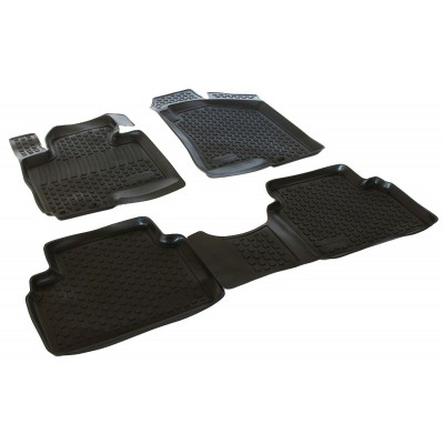 3D Autorohože gumové s vysokým okrajom Kia  Ceed II 2010-2012 4 ks