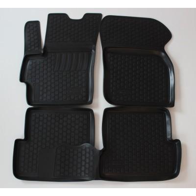3D Autorohože gumové s vysokým okrajom Mazda 3 II  2009 a novšie 4  ks
