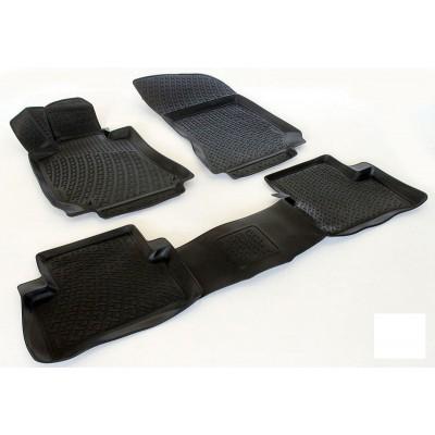 3D Autorohože gumové s vysokým okrajom Mercedes E Class W212 2009 a novšie 4 ks