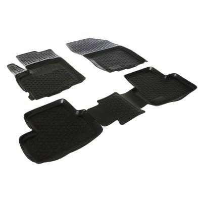 3D Autorohože gumové s vysokým okrajom Mitsubishi ASX 2010 a novšie   4 ks