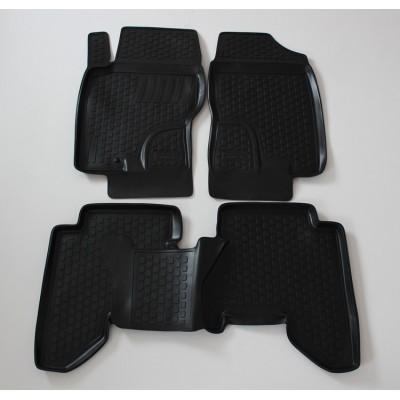 3D Autorohože gumové s vysokým okrajom Nissan Pathfinder III 2008 a novšie   4 ks