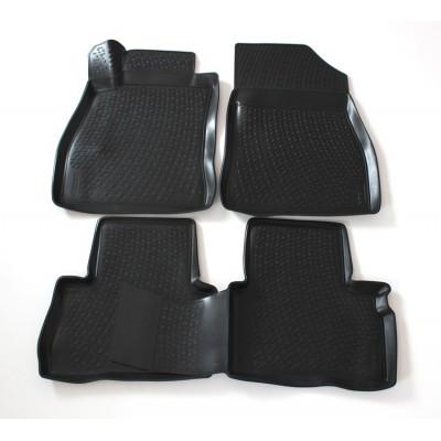 3D Autorohože gumové s vysokým okrajom Nissan Tiida 2004 a novšie 4 ks