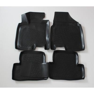 3D Autorohože gumové s vysokým okrajom Nissan Qashqai  2007-2013   4 ks