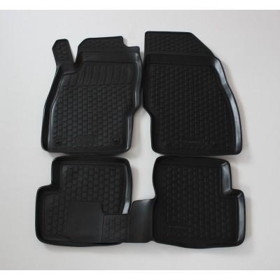 3D Autorohože gumové s vysokým okrajom Opel Corsa D 2006  a novšie   4 ks