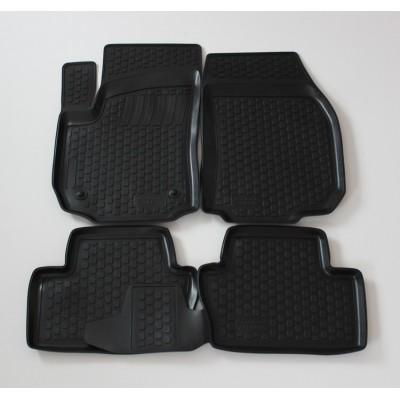 3D Autorohože gumové s vysokým okrajom Opel Zafira B 2005-2011   4 ks