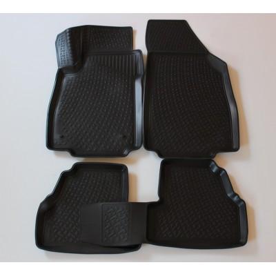 3D Autorohože gumové s vysokým okrajom Opel Mokka 2012 a novšie   4 ks