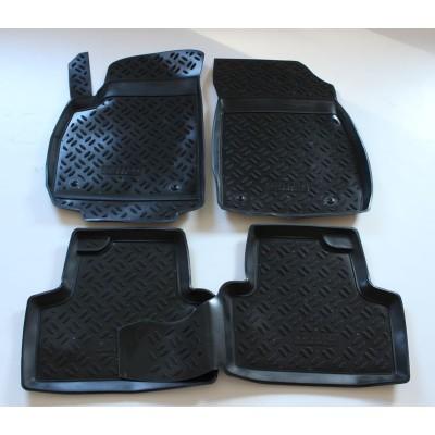 3D Autorohože gumové s vysokým okrajom Opel Zafira C 2011 a novšie 4 ks