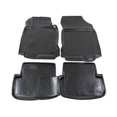 3D Autorohože gumové s vysokým okrajom Renault Laguna III 2007-2014 4 ks