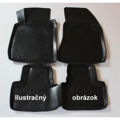 3D Autorohože gumové s vysokým okrajom Renault Kangoo 2008 a novšie 2 front  ks