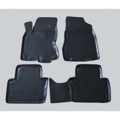 3D Autorohože gumové s vysokým okrajom Renault Koleos 2008 a novšie   4 ks