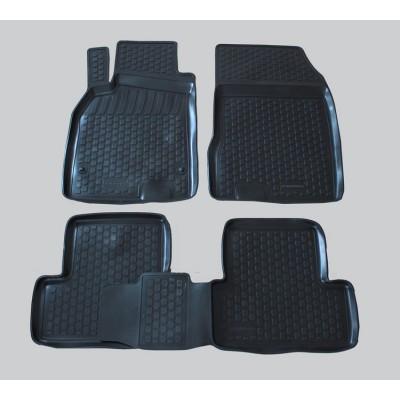 3D Autorohože gumové s vysokým okrajom Renault Fluence 2009 a novšie   4 ks