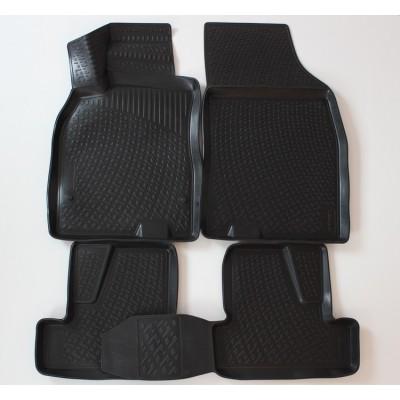 3D Autorohože gumové s vysokým okrajom Reanult Megane IV 2016 a novšie 4 ks