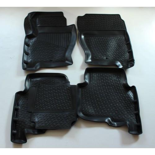 3D Autorohože gumové s vysokým okrajom Land Rover Discovery 3/4 2005 a novšie 4 ks